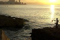 coast line, malecon, Havana, Cuba
