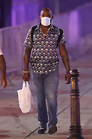 WASHINGTON, D.C. - SEPTEMBER 12: Marcell Ozuna of Major League Baseball's Atlanta Braves, seen leaving Nationals Park after their win against the Washington Nationals during the Covid-19 pandemic-shortened season in Washington, D.C. on September 12, 2020. Credit: mpi34/MediaPunch