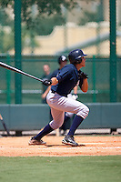 7-25-2009: Ramon Flores of the Gulf Coast League Yankess during the game in Orlando, Florida. The GCL Yankees are the Rookie League affiliate of the New York Yankees. Photo By Scott Jontes/Four Seam Images