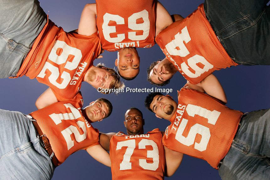 Texas Linemen. .Photo by Chris Covatta