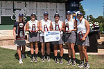 HOUSTON, TX - MAY 12: Members of the George Fox University placed second during the Division III Women's Golf Championship held at Bay Oaks Country Club on May 12, 2017 in Houston, Texas. (Photo by Rudy Gonzalez/NCAA Photos/NCAA Photos via Getty Images)