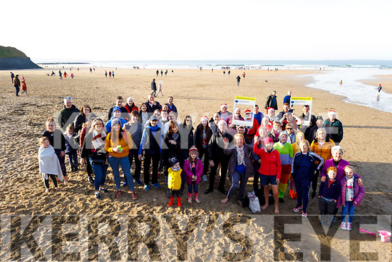 Raedy to take the plunge at the Con Hartnett Memorial swim in Ballybunion on New Years Day.