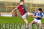 Aidan O'Sullivan Dromid Pearses v Kevin Quinn Derrytresk in the AIB All Ireland Junior Club Championship Semi Final at Portlaoise on Sunday