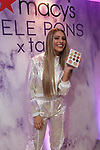 """Lele Pons celebrating the launch of her Lele Pons x tarte collection at Macy's Herald Square."""