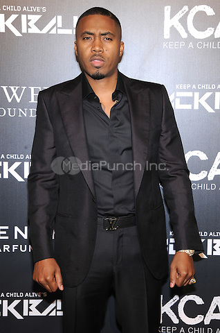 New York, NY- October 30:  Nas attends Keep a Child Alive's 11Annual Black Ball at Hammerstein Ballroom on October 30, 2014 in New York City. Credit: John Palmer/MediaPunch