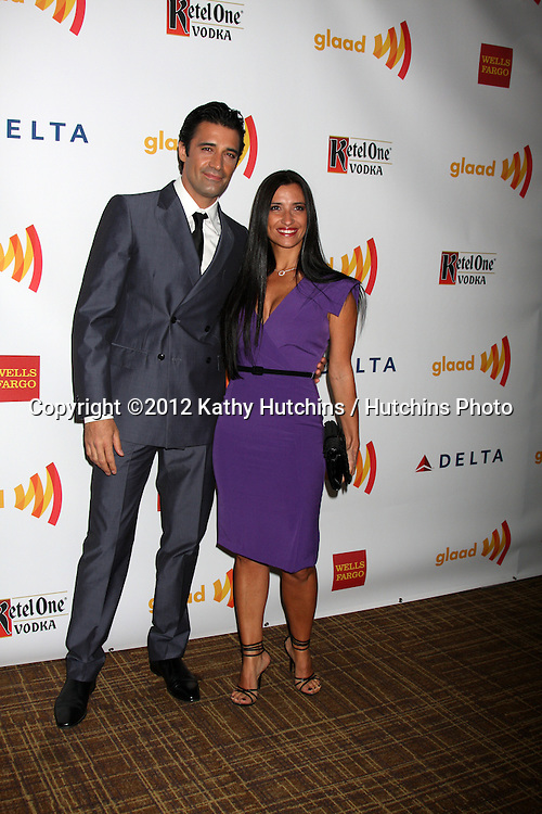 LOS ANGELES - APR 21:  Gilles Marini. arrives at the 23rd GLAAD Media Awards at Westin Bonaventure Hotel on April 21, 2012 in Los Angeles, CA