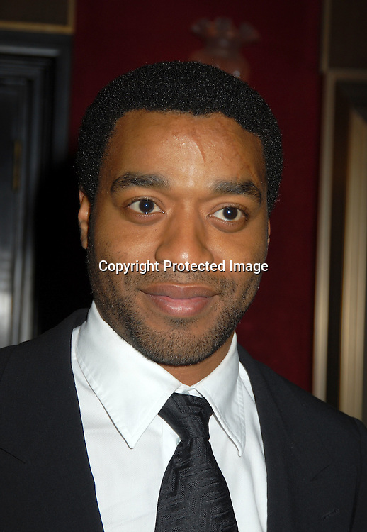 """Chiwetel Ejiofer ..at The World Premiere of """"Inside Man"""" directed by Spike Lee on March 20, 2006 at The Ziegfeld Theatre. ..Robin Platzer, Twin Images"""