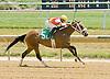 Gagne winning at Delaware Park on 7/11/12