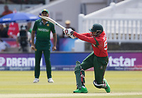 Soumya Sarkar (Bangladesh) picks his spot and hits one bounce to the mid wicket boundary for four during Pakistan vs Bangladesh, ICC World Cup Cricket at Lord's Cricket Ground on 5th July 2019