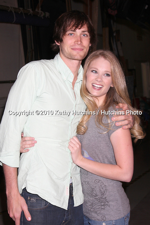 "Zack Conroy & Kimberly Matula.Guinness World Records®  presents THE BOLD AND THE BEAUTIFUL with the certification as the  ""Most Popular Daytime TV Soap - Current..Bold & Beautiful Set, Stage 31, CBS Televsion CIty.Los Angeles, CA.May 18, 2010.©2010 Kathy Hutchins / Hutchins Photo.."