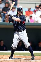 March 8, 2010:  Shortstop Brendan Harris of the Minnesota Twins during a Spring Training game at Ed Smith Stadium in Sarasota, FL.  Photo By Mike Janes/Four Seam Images
