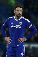 Sean Morrison (club captain) of Cardiff City during the Sky Bet Championship match between Cardiff City and Preston North End at Cardiff City Stadium, Wales, UK. Tuesday 31 January 2017