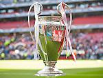 LISBOA. PORTUGAL. FÚTBOL. <br /> FINAL CHAMPIONS LEAGUE<br /> Estadio Estadio do Sport Lisboa e Benfica<br /> REAL MADRID - ATLETICO MADRID,  a 25/05/2014 <br /> En la foto : TROFEO CHAMPIONS