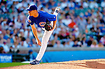 2 July 2005: Michael Wuertz, pitcher for the Chicago Cubs, on the mound in relief against the Washington Nationals. The Nationals defeated the Cubs 4-2 in front of 40,488 at Wrigley Field in Chicago, IL. Mandatory Photo Credit: Ed Wolfstein