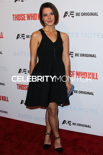 "HOLLYWOOD, LOS ANGELES, CA, USA - FEBRUARY 26: Paloma Kwiatkowski at the Premiere Party For A&E's Season 2 Of ""Bates Motel"" & Series Premiere Of ""Those Who Kill"" held at Warwick on February 26, 2014 in Hollywood, Los Angeles, California, United States. (Photo by Xavier Collin/Celebrity Monitor)"