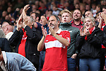 Middlesbrough fan during the Sky Bet Championship match at the Riverside Stadium, Middlesbrough. Picture date: August 12th 2017. Picture credit should read: Jamie Tyerman/Sportimage