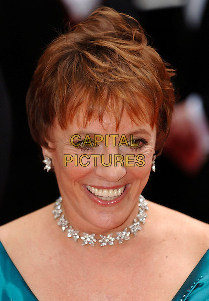 ESTHER RANTZEN.Arrivals at the British Academy Television Awards, (BAFTA's) held at Grosvenor House Hotel, London, .England, May 7th 2006..bafta baftas portrait headshot diamond necklace earrings.Ref: PL.www.capitalpictures.com.sales@capitalpictures.com.©Phil Loftus/Capital Pictures