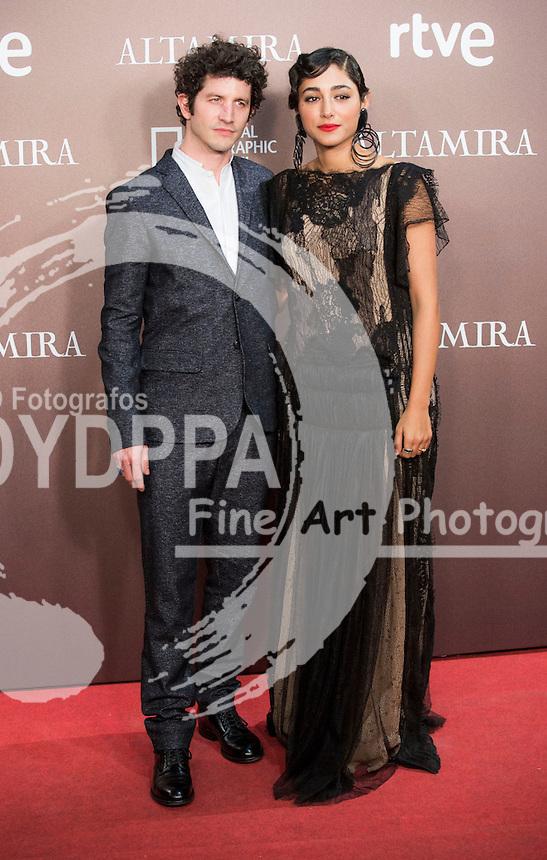 Iranian actress Golshifteh Farahani and Clement Sibony