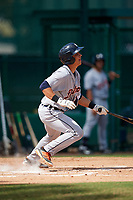 Detroit Tigers catcher Sam McMillan (32) at bat during an Instructional League game against the Atlanta Braves on October 10, 2017 at the ESPN Wide World of Sports Complex in Orlando, Florida.  (Mike Janes/Four Seam Images)