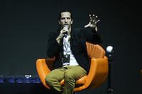 SÃO PAULO,SP, 02.12.2016 - COMIC-CON - Ator Vladimir Brichta durante a Comic Con 2016 no São Paulo Expo na região sul da cidade nesta sexta-feira, 02. (Foto: Vanessa Carvalho/Brazil Photo Press)