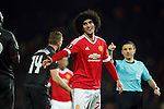 Marouane Fellaini of Manchester United during the UEFA Europa League match at Old Trafford. Photo credit should read: Philip Oldham/Sportimage