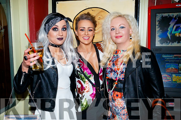 Jessica Boylan, Aine McCoy and Lisa Conway, 80's/90's fundraiser disco at the Abbey Tavern, Ardfert on Saturday night last.