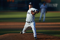 Catawba Indians relief pitcher Bryan Blanton (10) in action against the Wingate Bulldogs at Newman Park on March 19, 2017 in Salisbury, North Carolina. The Indians defeated the Bulldogs 12-6. (Brian Westerholt/Four Seam Images)
