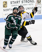 Kyle Ross (PSU - 20), Mike Domsodi (WIT - 28) - The visiting Plymouth State University Panthers defeated the Wentworth Institute of Technology Leopards 2-1 on Monday, November 19, 2012, at Matthews Arena in Boston, Massachusetts.