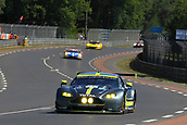 June 14 and 15th 2017,  Le Mans, France; Le man 24 hour race qualification sessions at the Circuit de la Sarthe, Le Mans, France;  #97 ASTON MARTIN RACING (GBR) ASTON MARTIN VANTAGE  LMGTE PRO  DARREN TURNER (GBR) JONATHAN ADAM (GBR) DANIEL SERRA (BRA)
