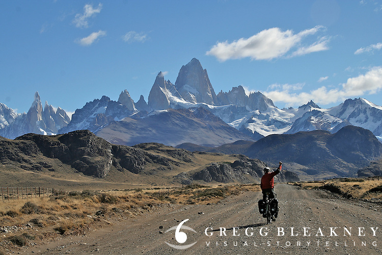 Self Portrait - Fitz Roy Massif - Argentina