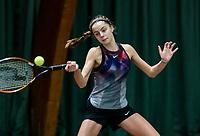 Wateringen, The Netherlands, March 14, 2018,  De Rhijenhof , NOJK 14/18 years, Florentine Dekkers (NED)<br /> Photo: www.tennisimages.com/Henk Koster