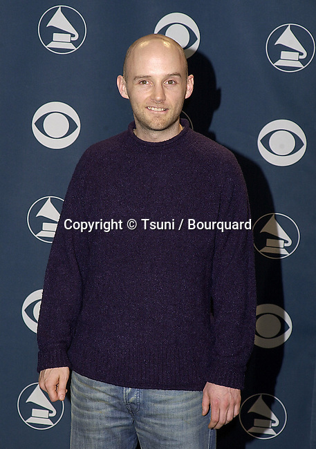 Moby at the  Grammy Awards 2001 at the Stapples Pavillion in Los Angeles          -            Moby21.jpg