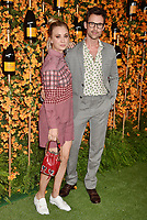 PACIFIC PALISADES, CA - OCTOBER 06: Kaley Cuoco and Brad Goreski arrive at the 9th Annual Veuve Clicquot Polo Classic Los Angeles at Will Rogers State Historic Park on October 6, 2018 in Pacific Palisades, California.<br /> CAP/ROT/TM<br /> &copy;TM/ROT/Capital Pictures