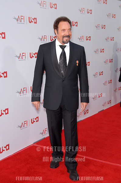 Singer TOM JONES at the 34th AFI Life Achievement Award Gala in Hollywood..June 8, 2006  Los Angeles, CA.© 2006 Paul Smith / Featureflash