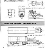 Drawings of plan of RGS motors 3, 4, 5 &amp; 7.<br /> RGS