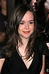 "HOLLYWOOD, CA. - November 09: Actress Ellen Page arrives at the 2008 AFI Film Festival Presents ""Defiance"" at The ArcLight Cinemas on November 9, 2008 in Hollywood, California."