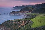 Big Sur Coast at Sunrise with Bixby Bridge