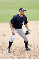 July 10, 2009:  Third Baseman Kevin Mahoney (47) of the GCL Yankees during a game at Bright House Networks Field in Clearwater, FL.  The GCL Yankees are the Gulf Coast Rookie League affiliate of the New York Yankees.  Photo By Mike Janes/Four Seam Images