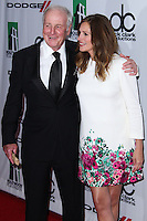 BEVERLY HILLS, CA - OCTOBER 21: Jerry Weintraub, Julia Roberts at 17th Annual Hollywood Film Awards held at The Beverly Hilton Hotel on October 21, 2013 in Beverly Hills, California. (Photo by Xavier Collin/Celebrity Monitor)