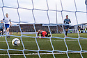 Forfar's Gavin Swankie scores their third goal.
