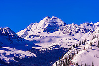 USA-Colorado-Aspen/Snowmass-Winter-Scenery