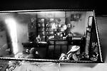 Potosi, Bolivia. Daily scene in a rotisserie.