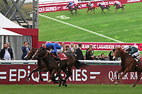 October 07, 2018, Longchamp, FRANCE - Royal Marine with Oisin Murphy up winning the Qatar Prix Lean-Luc Lagardere (Grand Criterium) (Gr. I) at  ParisLongchamp Race Course  [Copyright (c) Sandra Scherning/Eclipse Sportswire)]