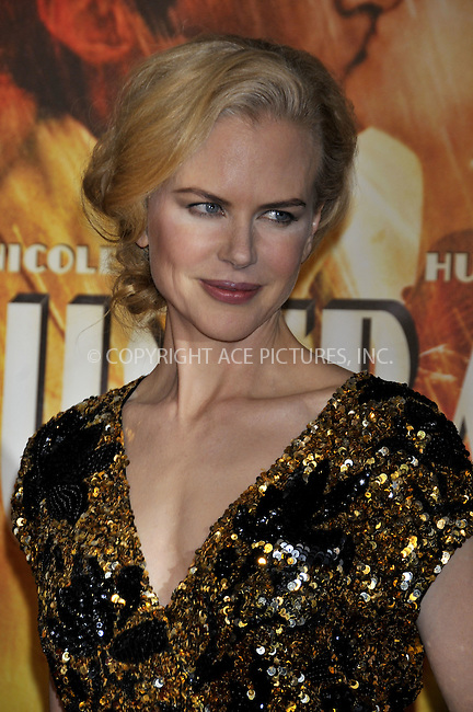 WWW.ACEPIXS.COM . . . . .....November 24, 2008. New York City.....Nicole Kidman attends the 'Australia' Premiere held at the Ziegfeld Theater on November 24, 2008 in New York City...  ....Please byline:  AJ Sokalner - ACEPIXS.COM..... *** ***..Ace Pictures, Inc:  ..Philip Vaughan (646) 769 0430..e-mail: info@acepixs.com..web: http://www.acepixs.com
