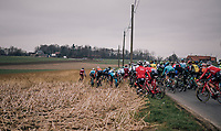 with +100km to go, the peloton is split after a massive pile-up and the race kick-starts for real<br /> <br /> 61th E3 Harelbeke (1.UWT)<br /> Harelbeke - Harelbeke (206km)
