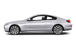 Car Driver side profile view of a 2015 BMW 6 Series Experience 2 Door Coupe Side View