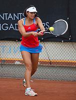 August 8, 2014, Netherlands, Rotterdam, TV Victoria, Tennis, National Junior Championships, NJK,  Arianne Hartono (NED)<br /> Photo: Tennisimages/Henk Koster