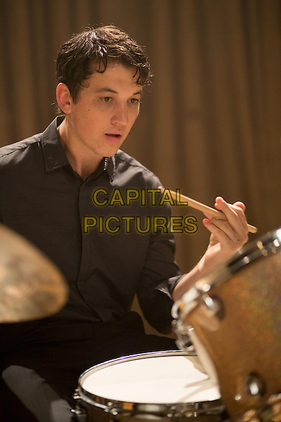 Miles Teller <br /> in Whiplash (2014)<br /> *Filmstill - Editorial Use Only*<br /> CAP/NFS<br /> Image supplied by Capital Pictures