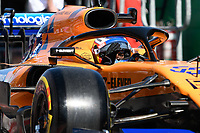 March 15, 2019: Carlos Sainz Jnr (ESP) #55 from the McLaren F1 team in pit lane during practice session two at the 2019 Australian Formula One Grand Prix at Albert Park, Melbourne, Australia. Photo Sydney Low