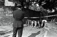 Pix: Barry Wilkinson/SWpix.com. The Yorkshire Ripper Archive. 14th May 1979 - 11th May1980...COPYRIGHT PICTURE>>SIMON WILKINSON>>0870 092 0092>>..Murder Scene...where Barbara Leach's body was found.